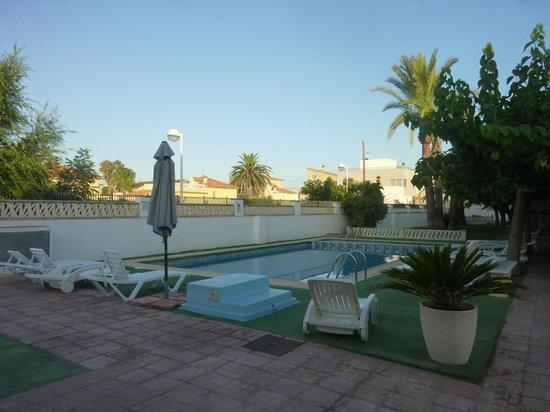 Apartaments els Romers: Piscine