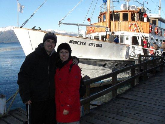 Turisur Navegando la Patagonia: barco