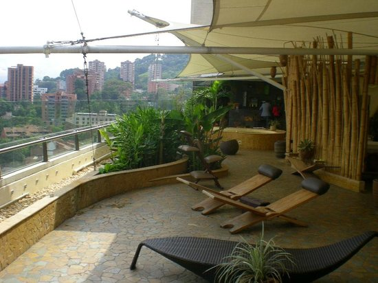 Diez Hotel Categoria Colombia : TERRASSE