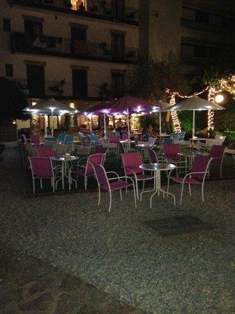 Hostal Horta Rosell: Terrasse