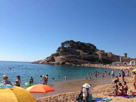 Hostal Horta Rosell: Tossa, plage