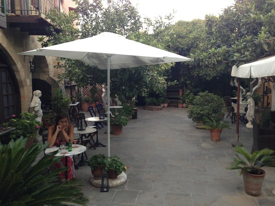 S. Nikolis Boutique Hotel: The garden