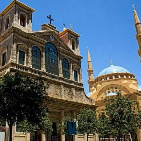 Libanon: beirut-downtown