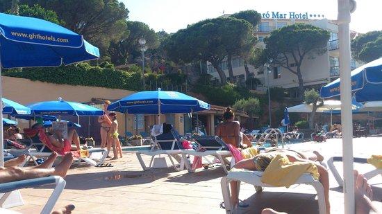 Hotel GHT S'Agaro Mar Hotel: Piscine