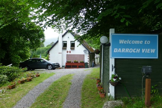 Darroch View B&B: view from the drive