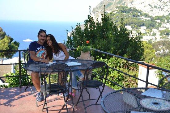 Hotel La Reginella: terrazza
