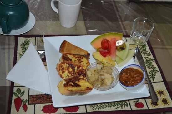 Evasion Gite et Refuges : Copieux petit déjeuner