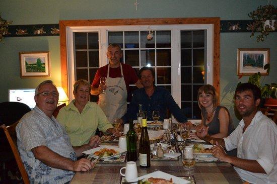 Evasion Gite et Refuges: Souper en bonne compagnie