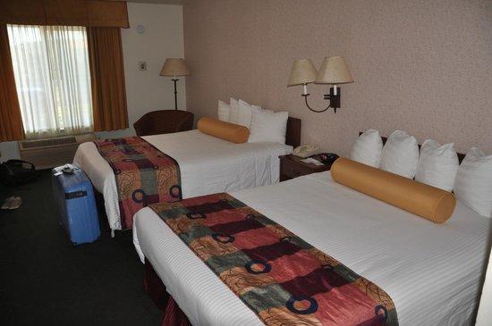 BEST WESTERN PLUS Villa Del Lago Inn : Vue dela chambre