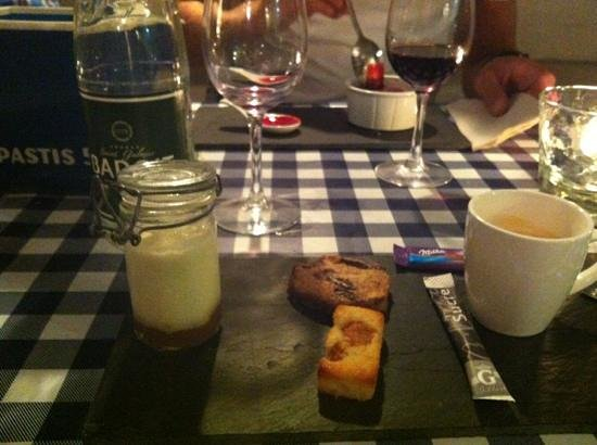 L'Instant Fromage : cafe gourmand