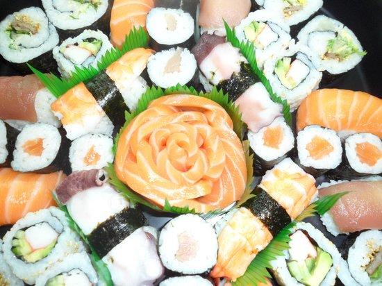 Sushi Master's : plateau