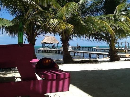 Barefoot Beach Belize : great view