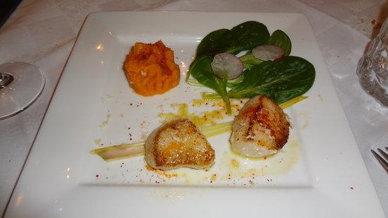 Via Mokis: 3ème entrée du menu gastronomiqe