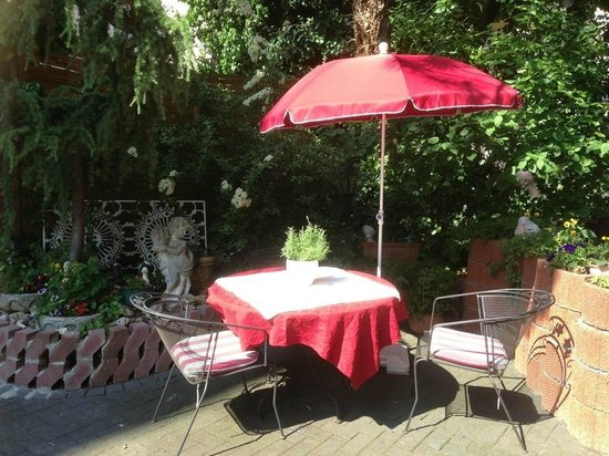 Sagaland Rhein Hotel: Jardim interior