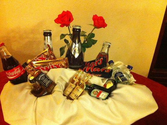 Sagaland Rhein Hotel: minibar