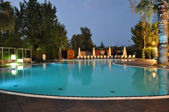 Hotel Acquario: di sera