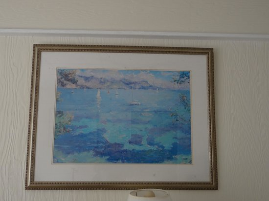 Kingsail Resort Motel : décoration defraichie