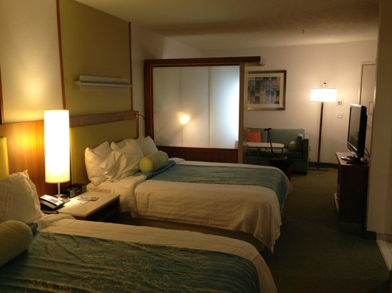 SpringHill Suites Vernal : Another view of the room