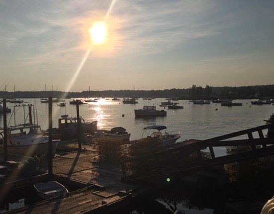 كاب إن فيشيز ووترفرونت إن: View from Cap'n fish's