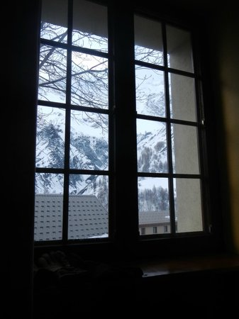 Hotel Auberge Edelweiss : The view from my room