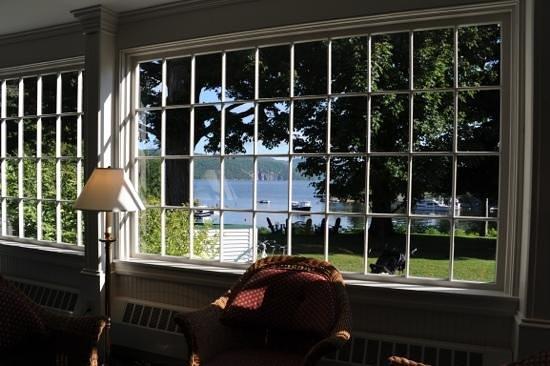 Basin Harbor : Jolie vue depuis l'hotel
