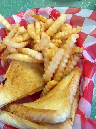 Billy Bob Dairyland : Grilled Cheese - Not gooey or greasy - just Perfect!