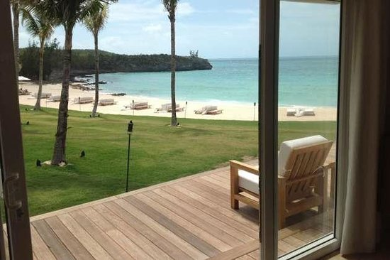 The Cove Eleuthera: The view from my door