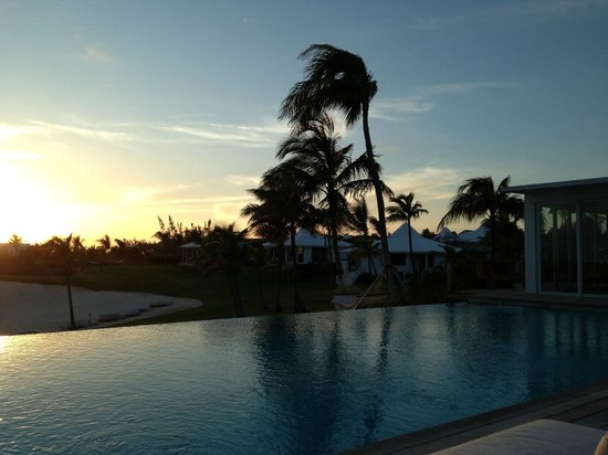 The Cove Eleuthera: yet another perfect sunset