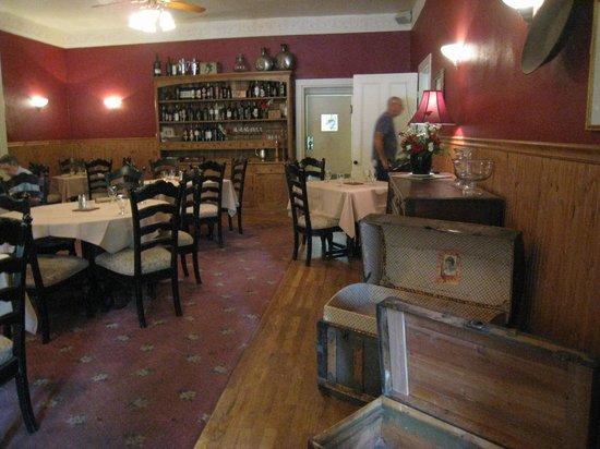 St. George Hotel: diningroom restaurant