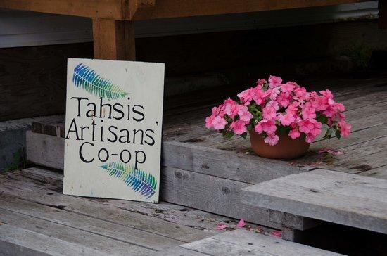 Tahsis Artisans' Coop: Tahsis Artisans' Co-op