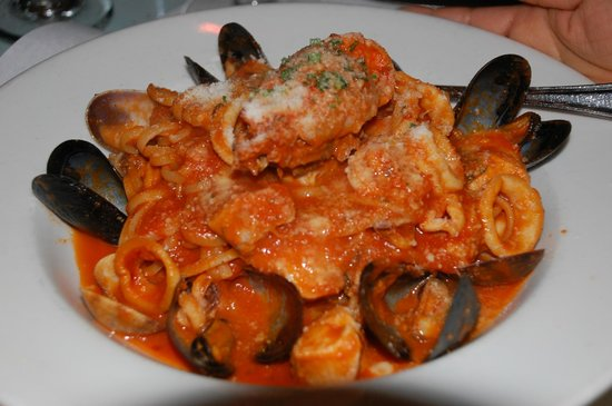 La Vecchia Cucina : A pasta dish.