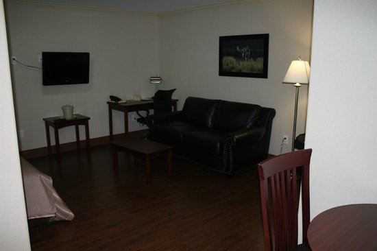 Braxton Suites: Single Suite Sitting Area