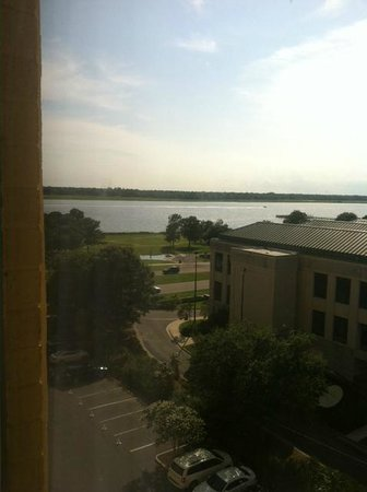 Charleston Marriott : View from room of river