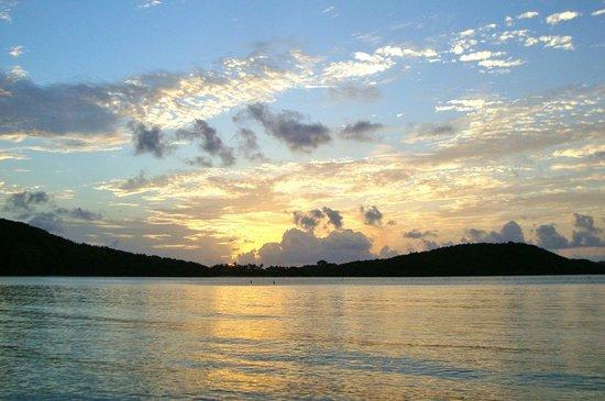 Gibney Beach Villas : Sunset