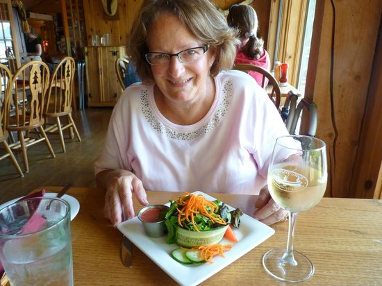 Gunflint Lodge: Now, that's a gourmet salad!