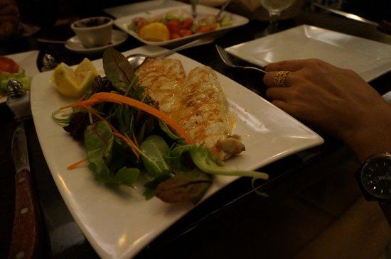 AnTalia: Delcious grilled sea bass