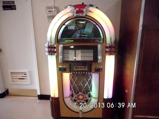 Jukebox at Southern Kitchen in New Market, VA.