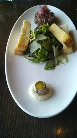 Ranch House Restaurant & Saloon: Steak Tartar