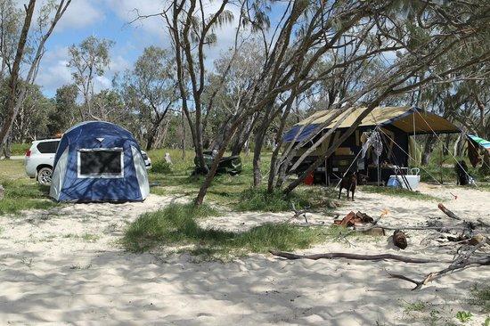 Main Beach Campground Stradbroke Island