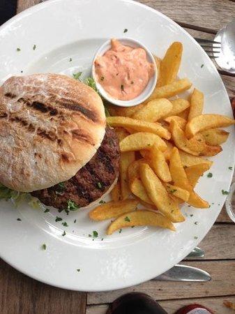 The Angel Inn: burger