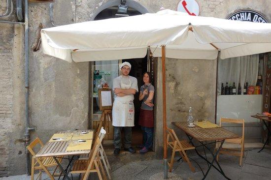 Your Hosts Picture Of Osteria Del Gatto Siena Tripadvisor