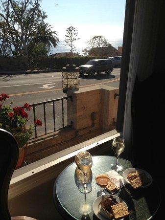 Casa Laguna Hotel & Spa: Wine and Cheese Reception View