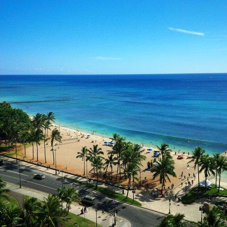 Park Shore Waikiki: View from 1415
