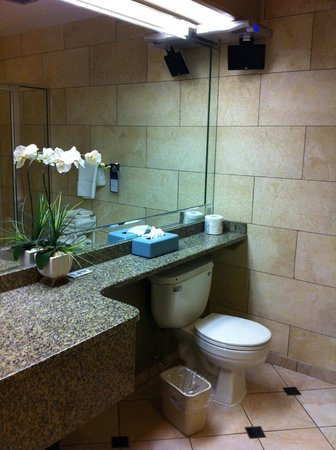 BEST WESTERN PLUS Port O' Call Hotel: Bathroom in upgraded room