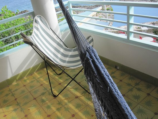 Idle Awhile - The Cliffs: Hammock  on the upstairs balcony