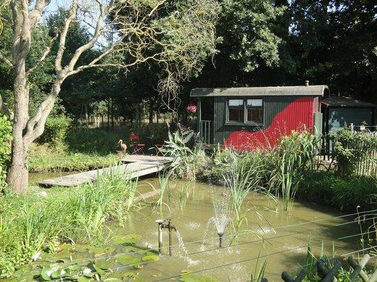 Maison d hotes de la Parfraire : Vagon,habitacion jardín