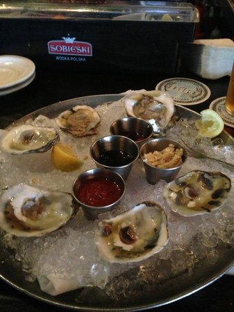 City Oyster: Oysters on the Half Shell - Then Quickly in One's Stomach