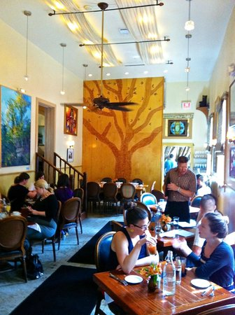 Atchafalaya : Street level eating area