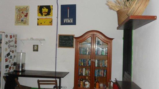 Rio Aplauso Hostel: Social livinroom