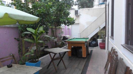 Rio Aplauso Hostel: Snooker area